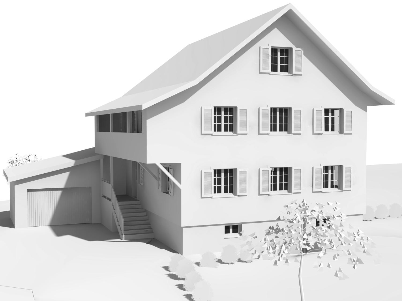 Neubau Ersatzbau Architektur Landhaus Benken Benkner Büchel Kaltbrunn