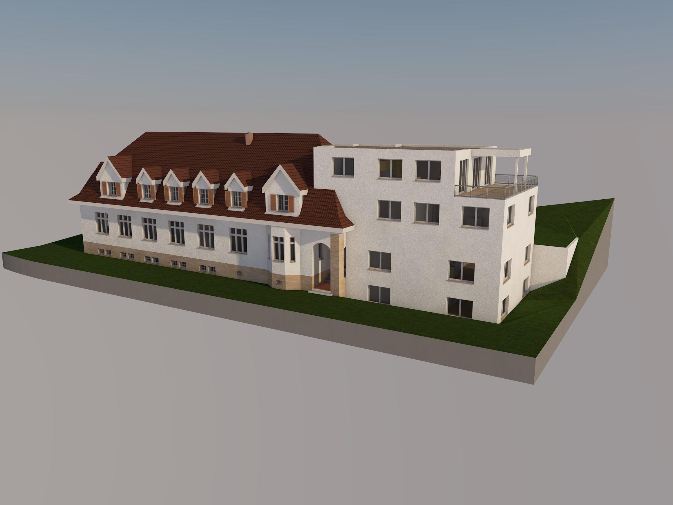Umbau Altbau Ronner Architektur Planung Bauleitung Alt Neu modern Holz Sanierung Renovierung