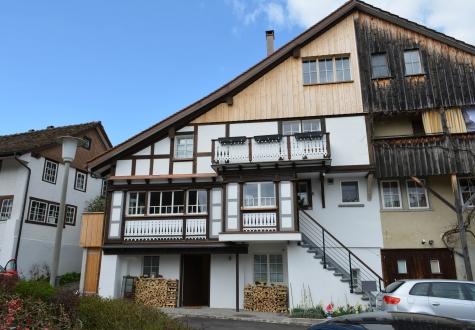 Umbau Altbau Ronner Architektur Planung Bauleitung Alt Neu modern Holz Riegelhaus Fassade