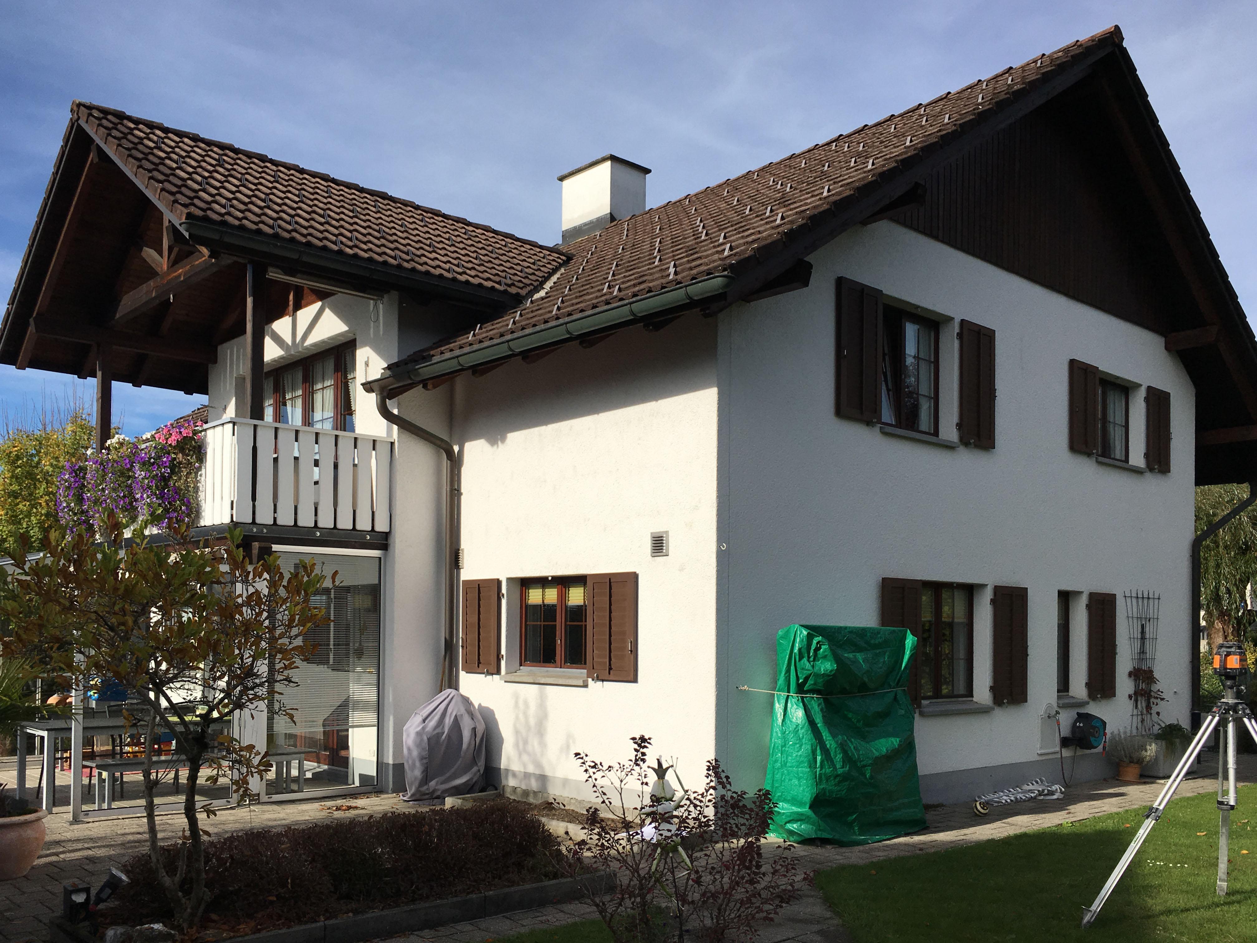 Ronner Neubau Ersatzbau Architektur Anbau Architketur achziger neunziger Nivelliergerät
